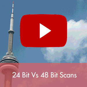 Video on when to use 24 or 48 bit scanning