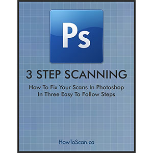 How to edit slide negative photo scans with Photoshp free ebook