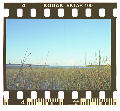 How to clean negative film before scanning using alcohol
