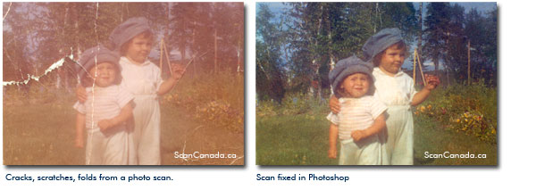 How To Fix Photo Scans Using Photoshop, Free Professional Tips