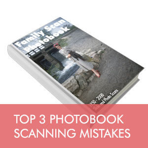 What's the best resolution when scanning photos for a photobook