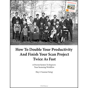 Day 2: How To Double Your Productivity And Finish Your Scan Project Twice As Fast