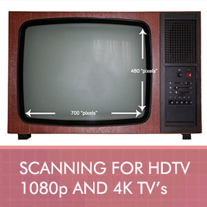 Best scan resolution for 1080p and 4k HDTV's