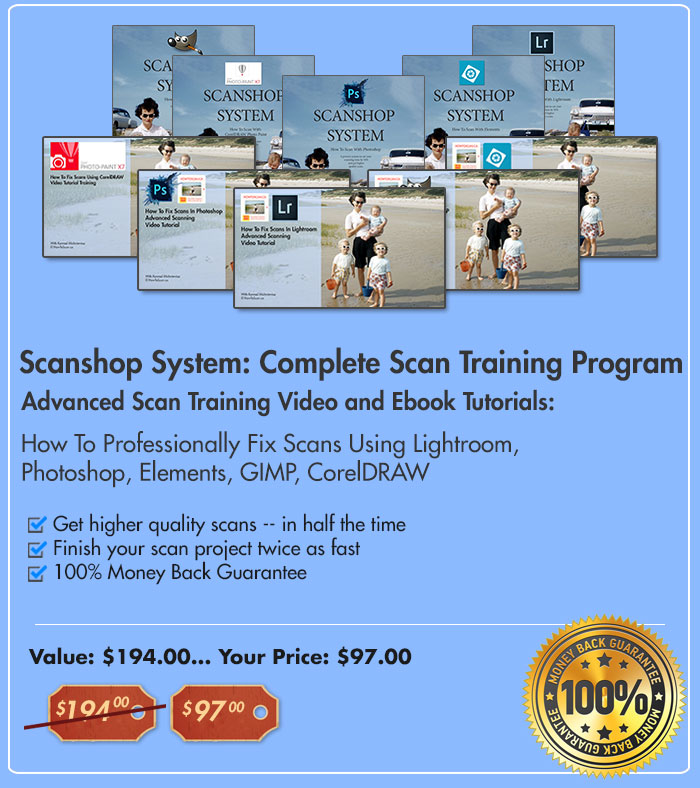 Scanshop system: complete scan training program